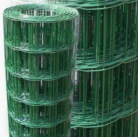 现货供应简易粗丝荷兰网围栏无锡3mm包塑荷兰网宜兴南通农场栅栏网