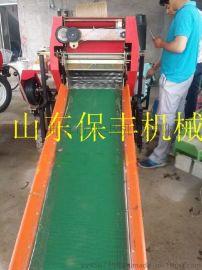 长春市秸秆打捆包膜机//苞米杆粉碎打捆机包膜机 打折促销
