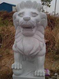 石材狮子批发厂家 星子县石材厂 花岗岩石材狮子