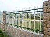 学校围墙栅栏,锌钢铁艺围墙栅栏