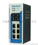 上海泗博IES-1000-2S-SC-6T  2光口/6电口工业以太网交换机