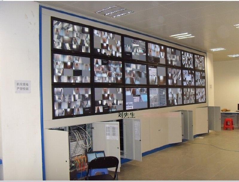 立騰機櫃定做21孔包邊拼接牆