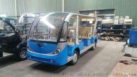 2016全新款燃油14座观光车,敞篷款十四座燃油四轮电动车