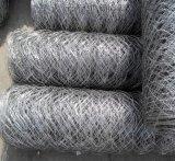 南京供應包塑防洪六角邊坡鐵絲石籠網 編織六角擰花石籠