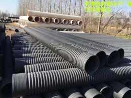 新乡200-800PE双壁波纹管厂家规格价格表大全PVC双壁波纹管今天工程报价