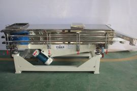 供应  不锈钢直线振动筛 高效分级除杂 直线筛分机