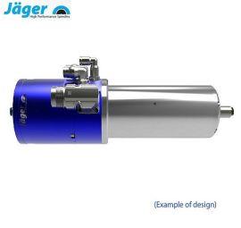 德国Jager翌格尔3C金属件雕铣高光电主轴