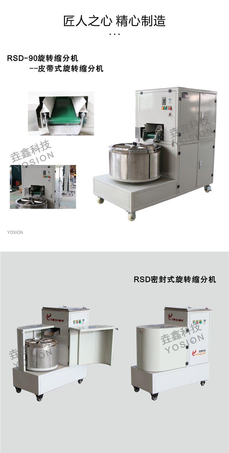 旋转缩分机5-青岛垚鑫科技www.yosionlab.com