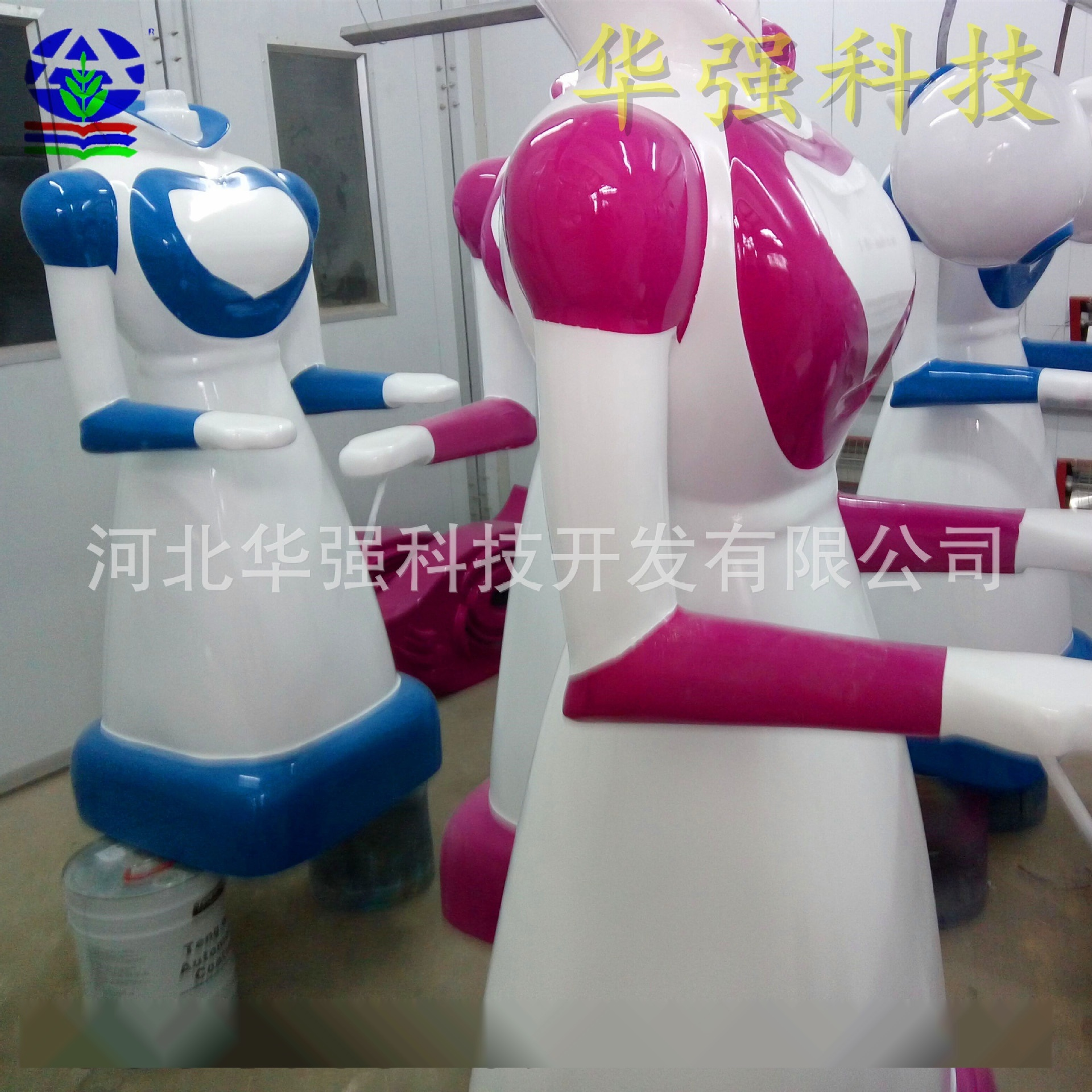 玻璃钢机器人外壳 玻璃钢医疗设备外壳 送餐机器人外