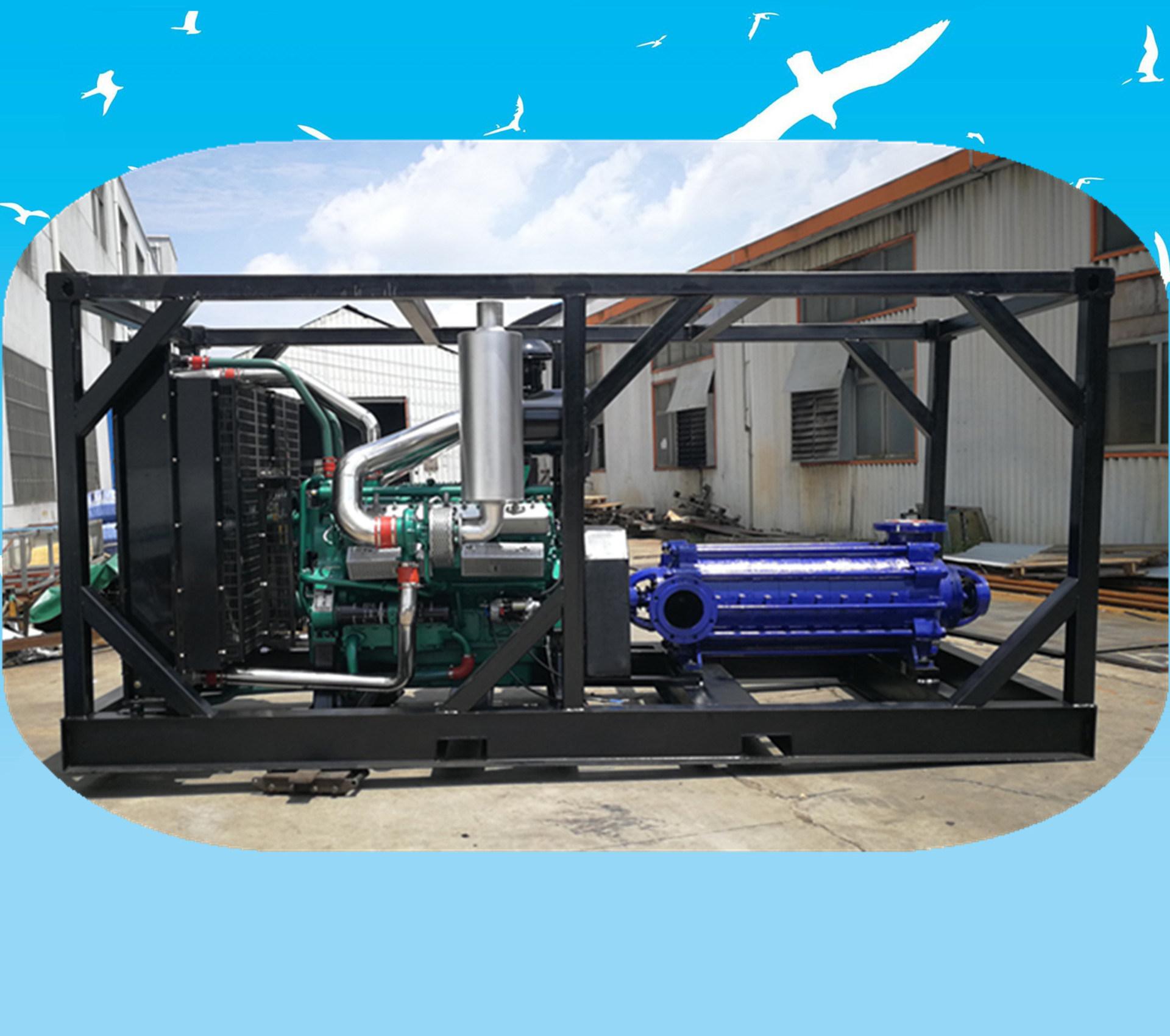 大流量柴油机多级泵组