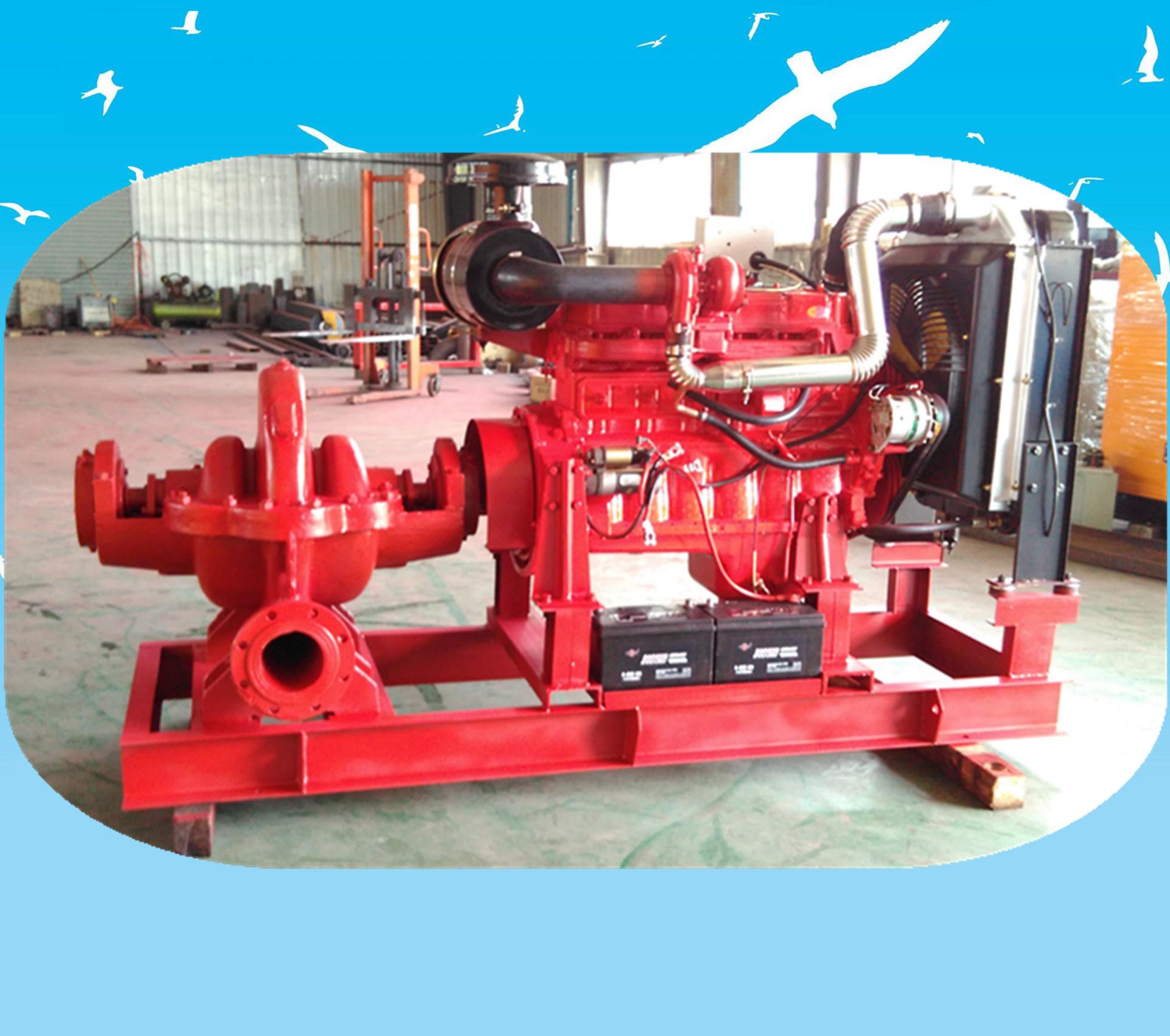 大流量柴油机水泵机组