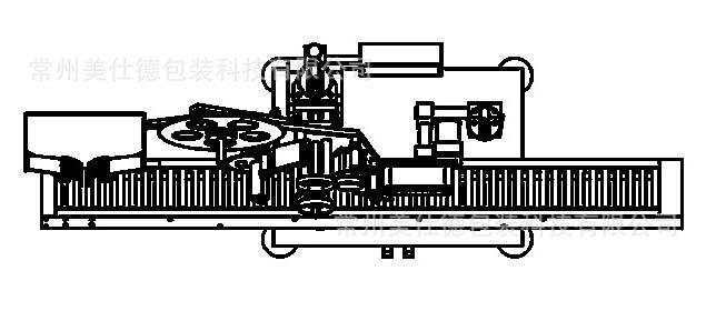 卧式圆瓶贴标机图2