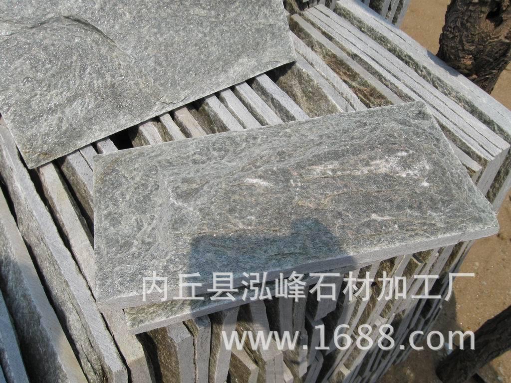 江西文化石廠家批量生產天然青石板亂形石圖片效果圖