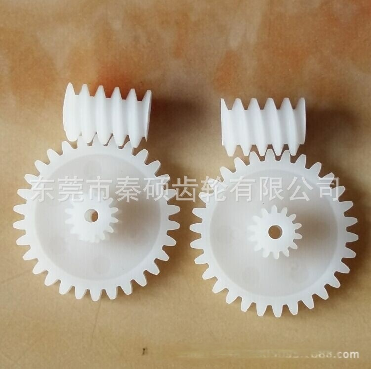 0.8模数蜗杆直齿