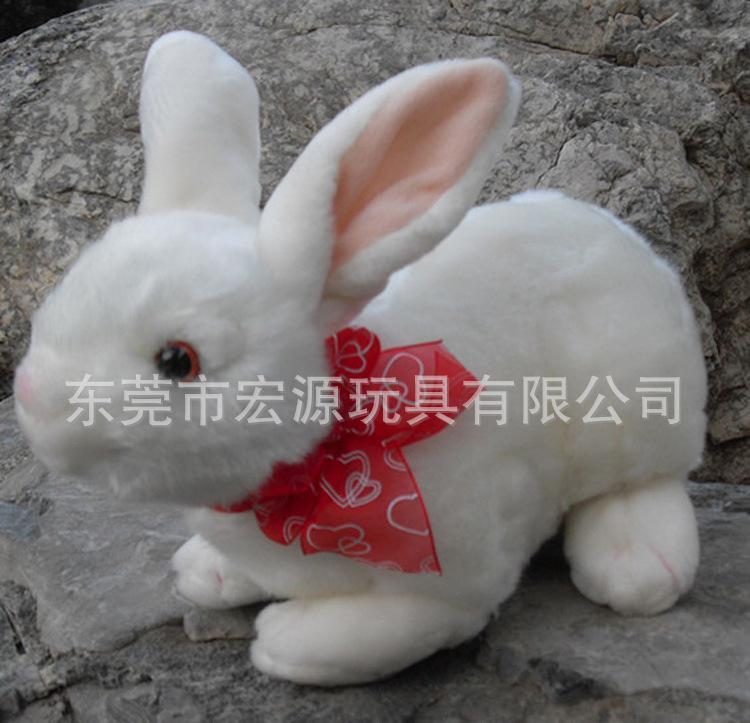 毛绒兔子公仔