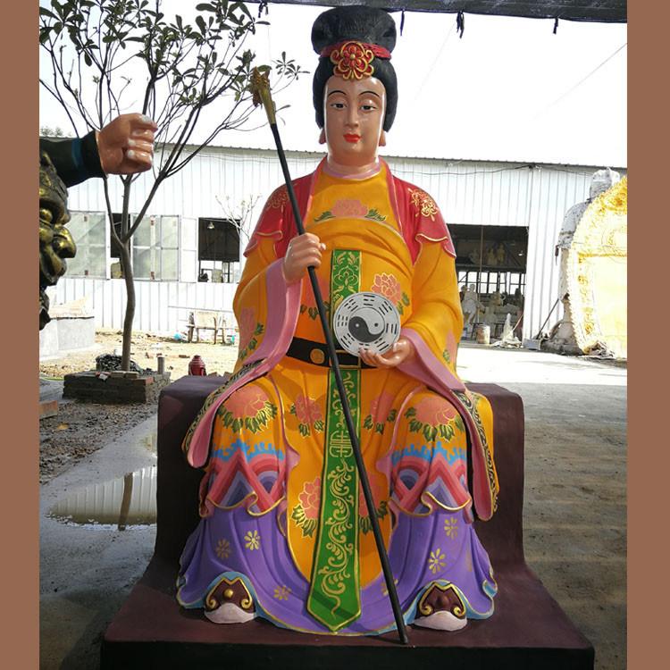 河南神像厂定制、大型佛像雕塑(图)三霄娘娘神像、十二神像神像加工