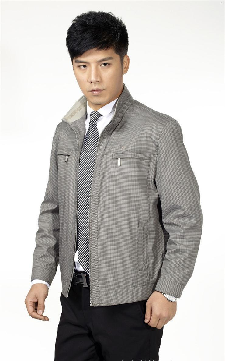 【浙纺制衣】常熟夹克 夹克衫 茄克衫 针织夹克JN57