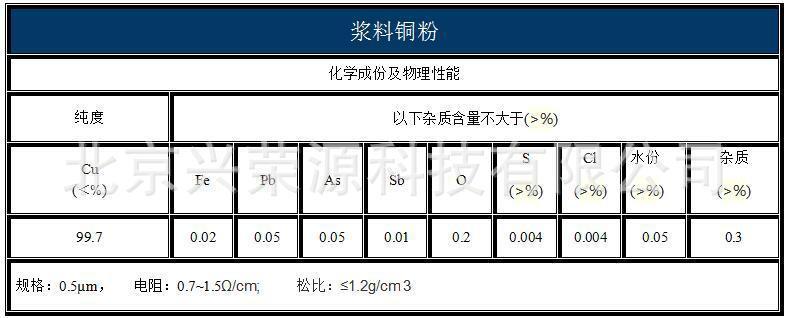 导电铜粉hxcf
