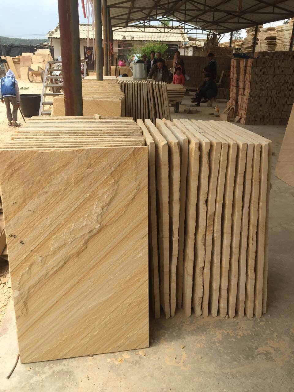 现货 供应天然文化石白石英蘑菇石文化砖