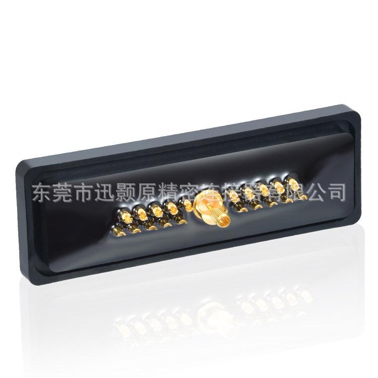 21W1 母 焊线 防水 同轴射频