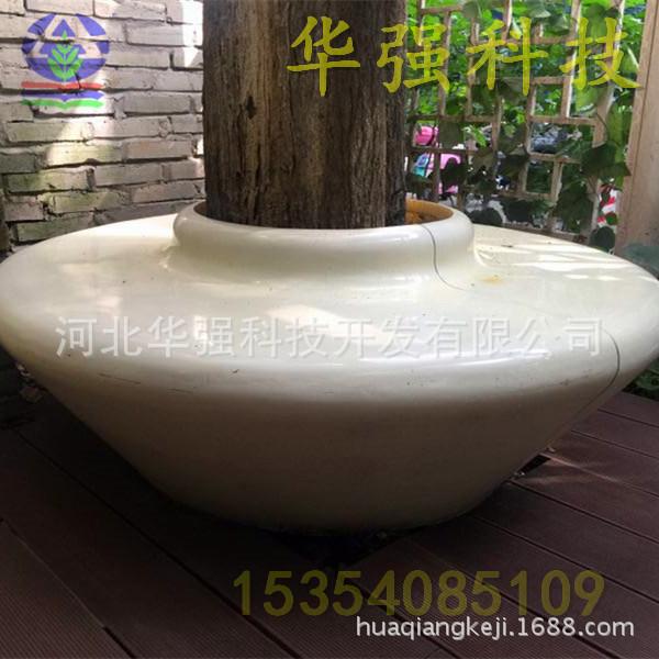 厂家生产制作HY114玻璃钢座椅  酒店美陈装饰休