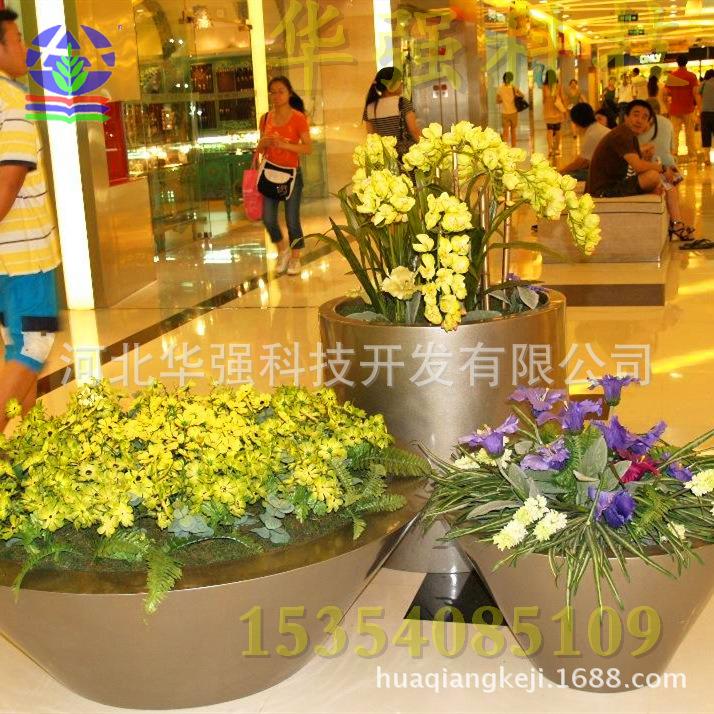玻璃钢花盆花器组合花盆