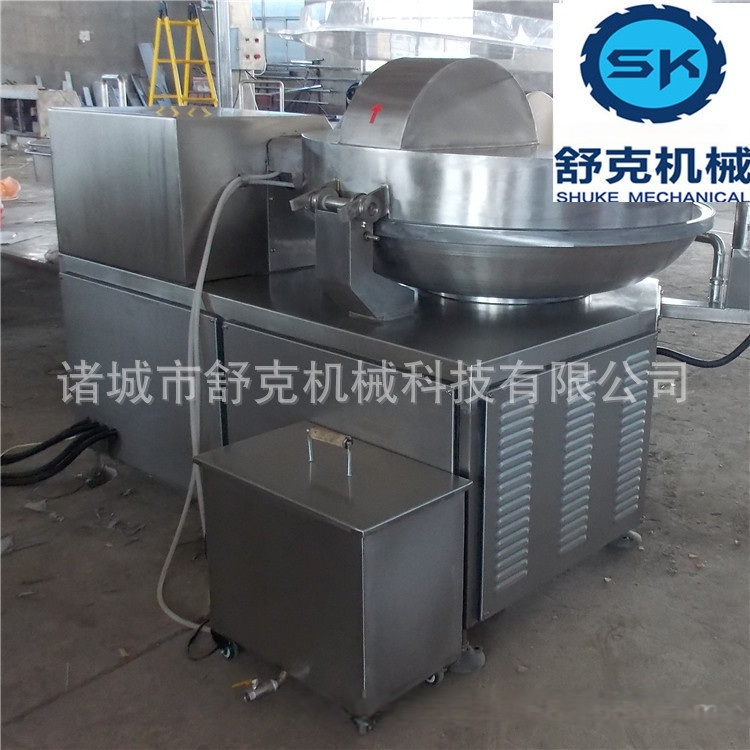 大型香腸料斬拌機 125高速斬拌機廠家製作 可定製 可調速