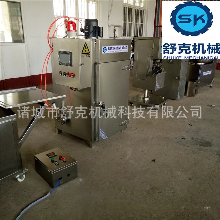 成套台烤设备 哈尔滨红肠加工设备 液压灌肠机
