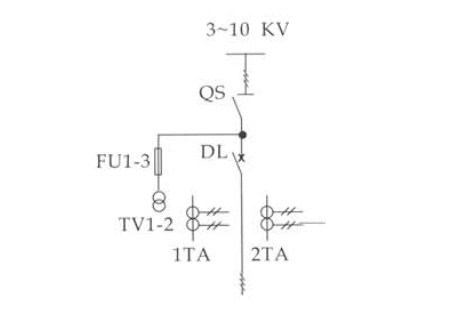 高压开关柜电路原理图