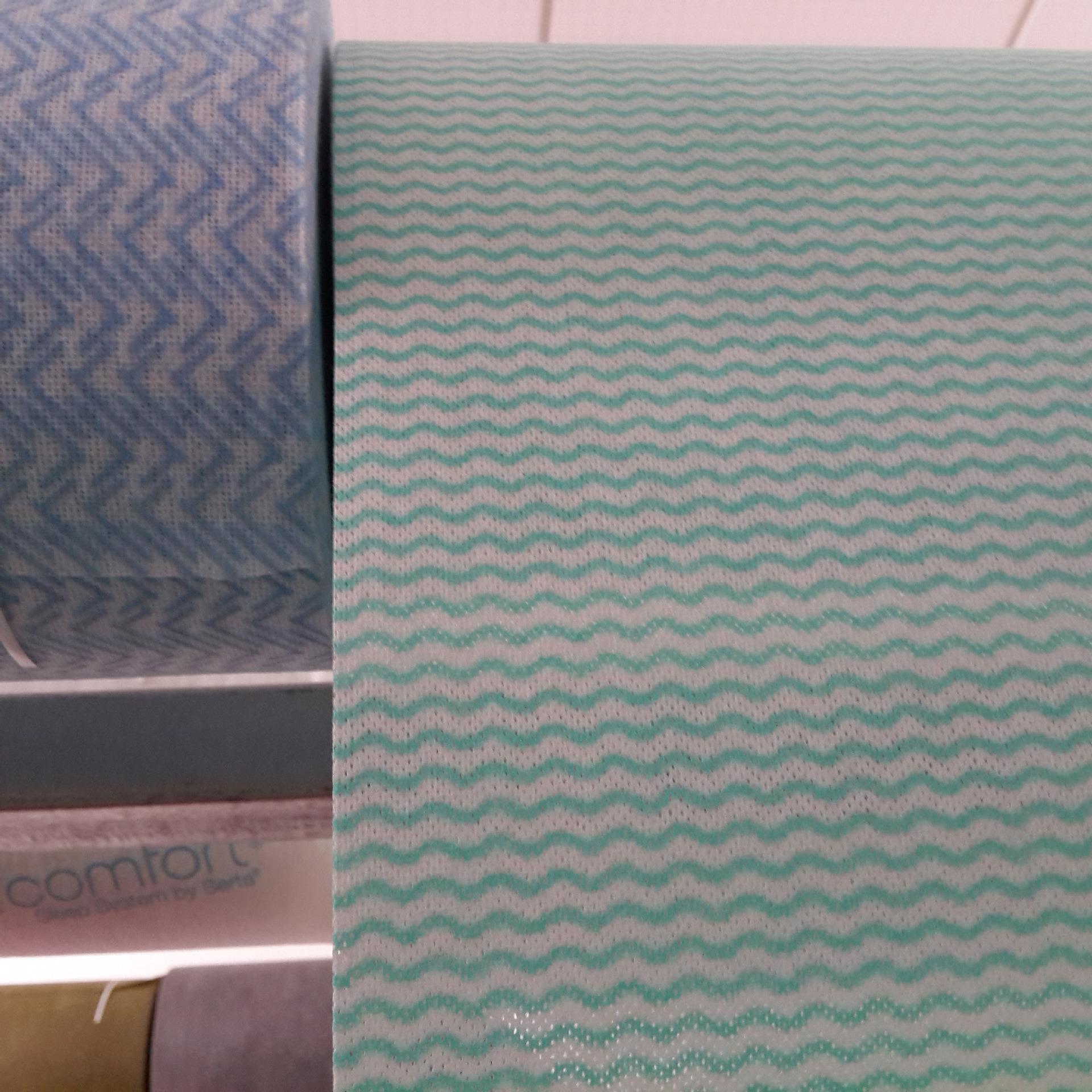 染色水刺布