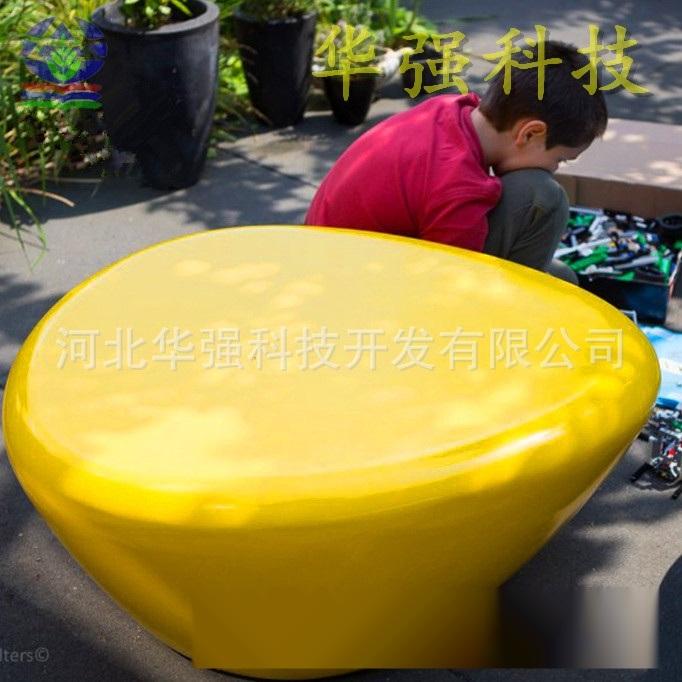 厂家定制玻璃钢休闲座椅 户外广场休息长椅 玻璃钢时
