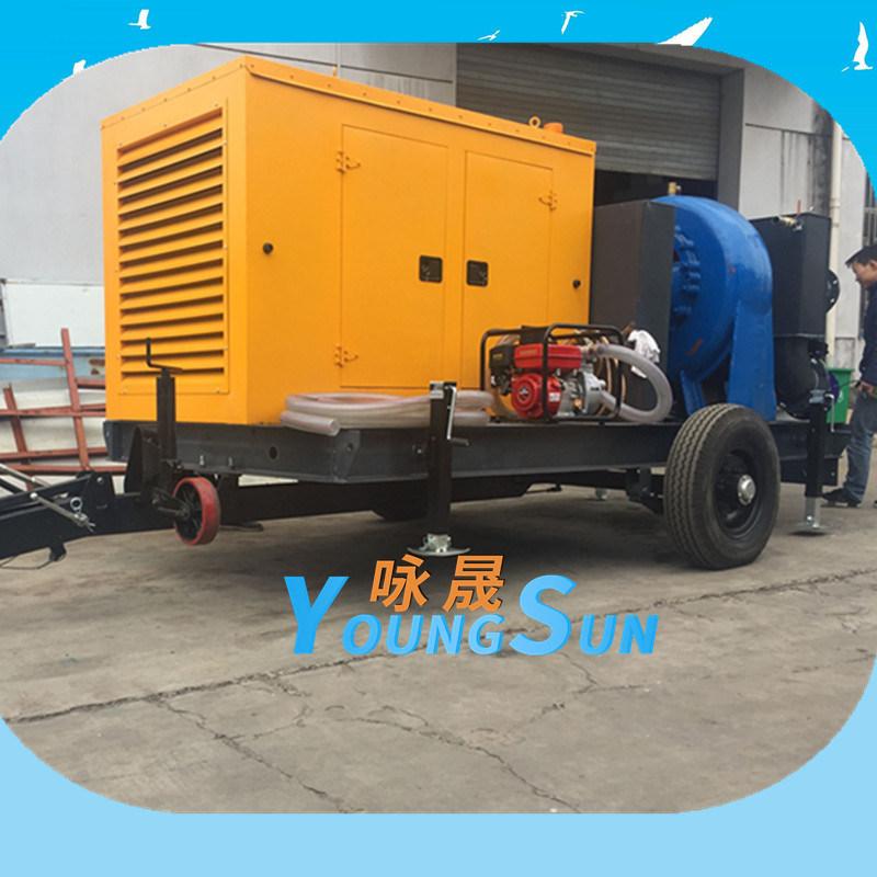 20寸防汛移动泵