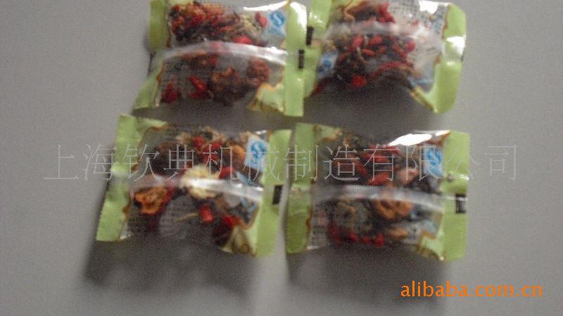 欽典帶線帶標牌茶葉內外袋包裝機代用茶自動泡茶包裝機 帶打碼