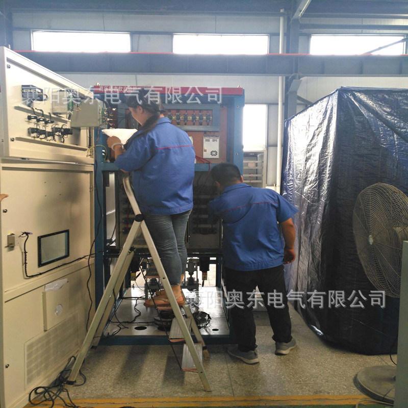 高压固态软起动柜出厂前调试.jpg