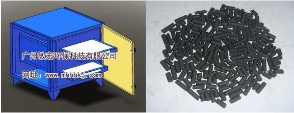 颗粒活性炭吸附箱