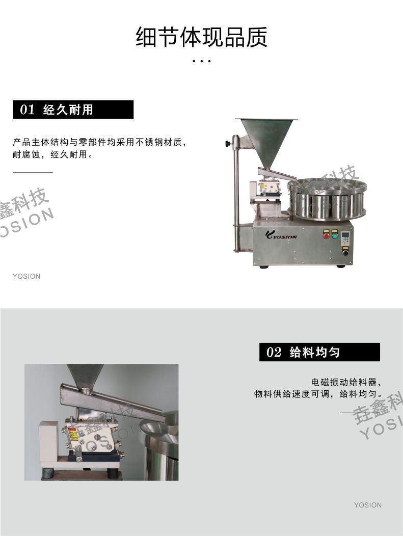 台式旋转缩分机3—垚鑫科技www.yosionl