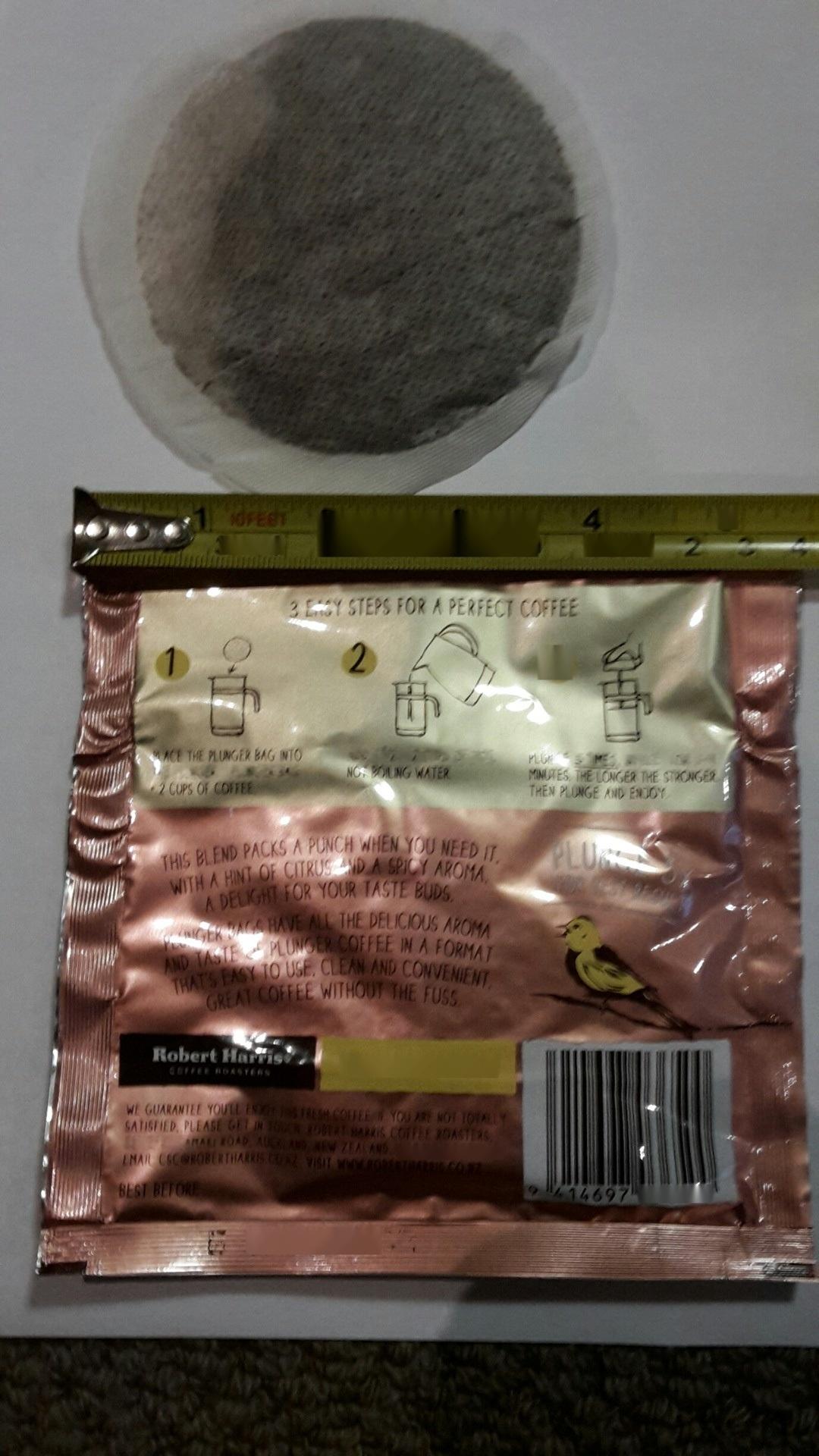 圆饼咖啡内外袋
