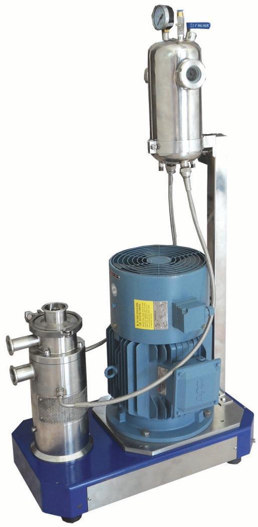 GLC2000粉液分散混合机