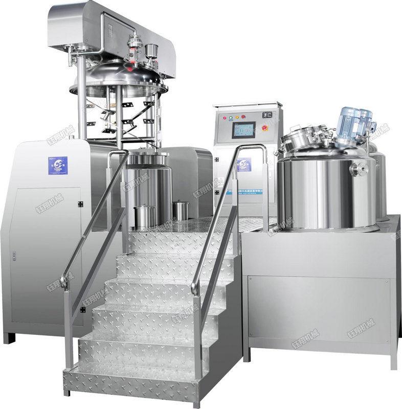 新款500L液压升降乳化机