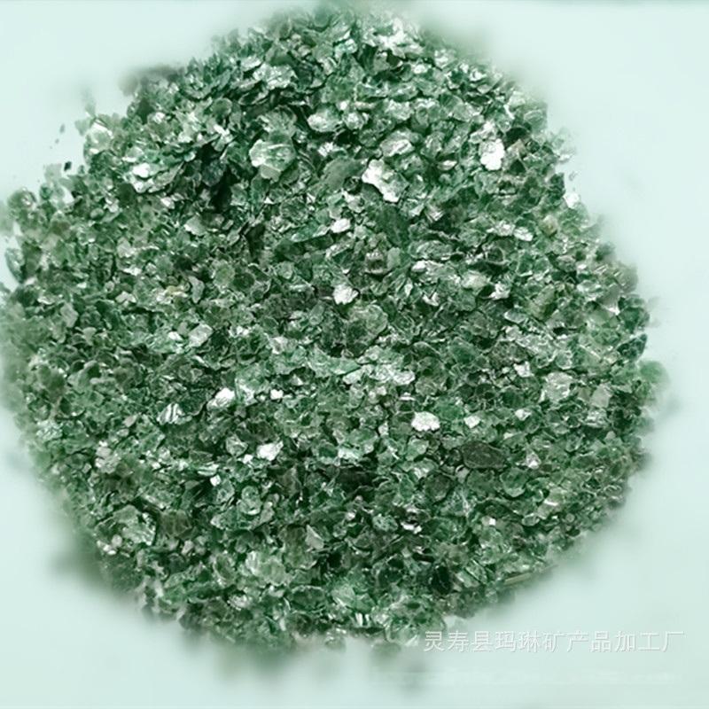深綠雲母片