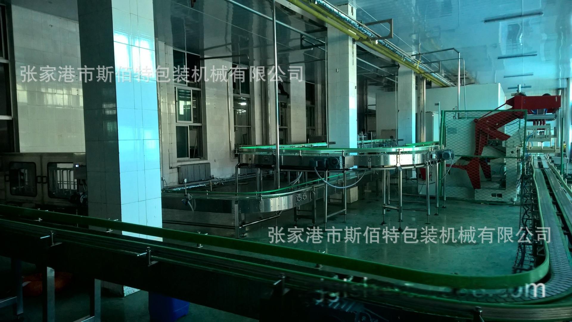 玻璃瓶含气饮料生产线