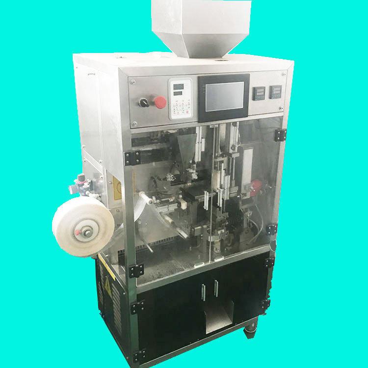 【三角包包装机】全自动电子秤三角茶包包装机 带线标茶叶包装机