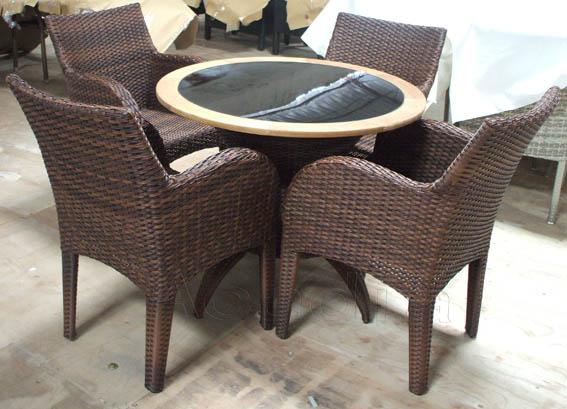 纯手工编织藤制桌椅 (AC-RF19)613494572