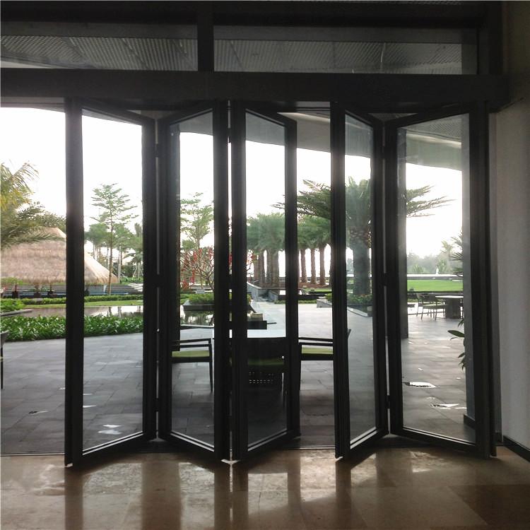 厂家移动玻璃隔断墙 钢化玻璃活动隔断 有框玻璃折叠门851184565