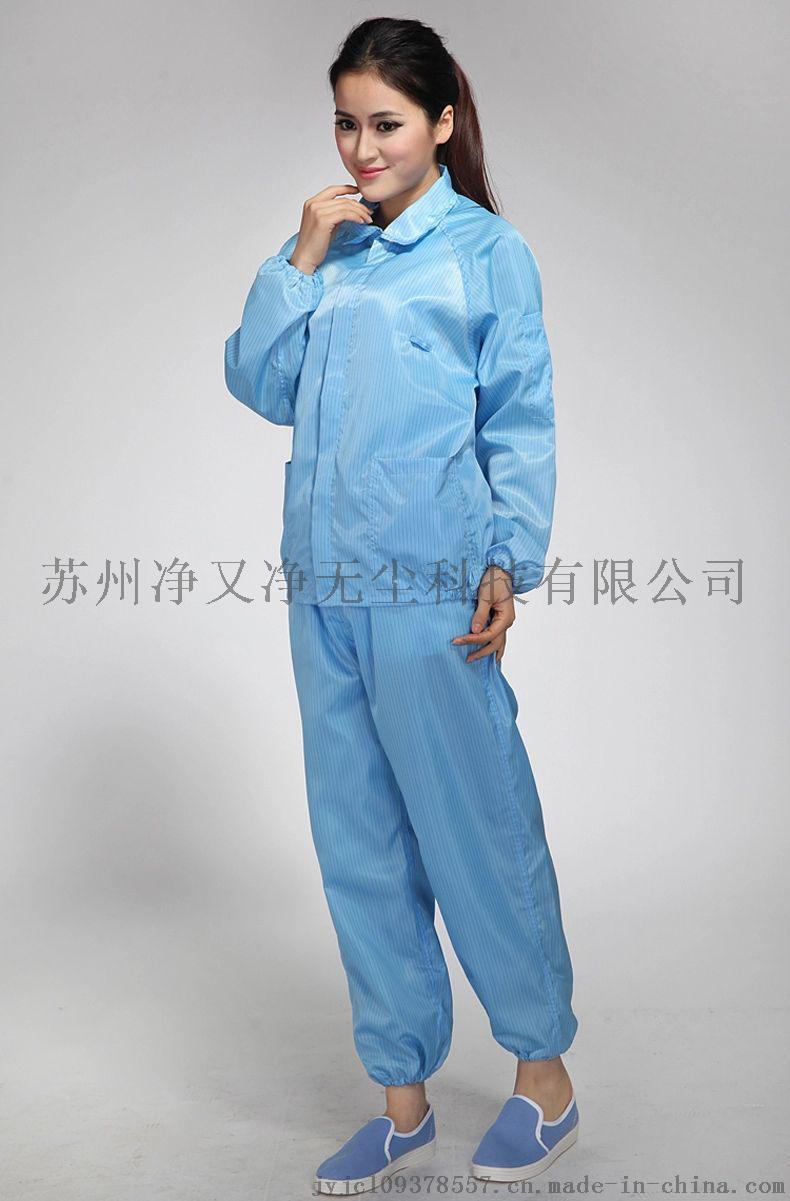 苏州防静电服厂家,防静电无尘服,防静电分体连帽服,65100155
