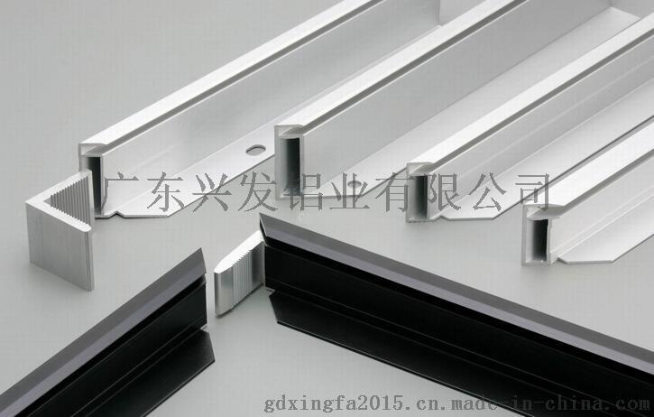 广东兴发铝材厂家直销铝合金U型槽 装裱铝材 铝材框架726475995