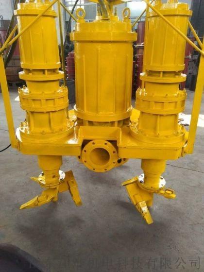 大型基坑清理高浓度潜水泥浆泵 绞吸抽泥泵816179502