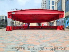 西安厂家定做推拉雨棚移动帐篷遮阳棚夜市摊棚子140501135