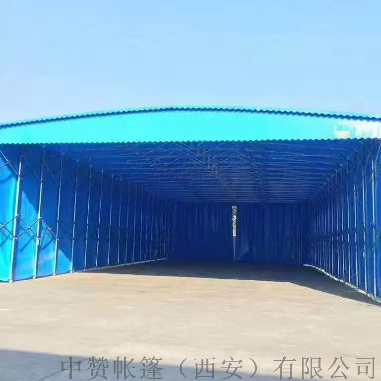 西安厂家定做推拉雨棚移动帐篷遮阳棚夜市摊棚子140501055