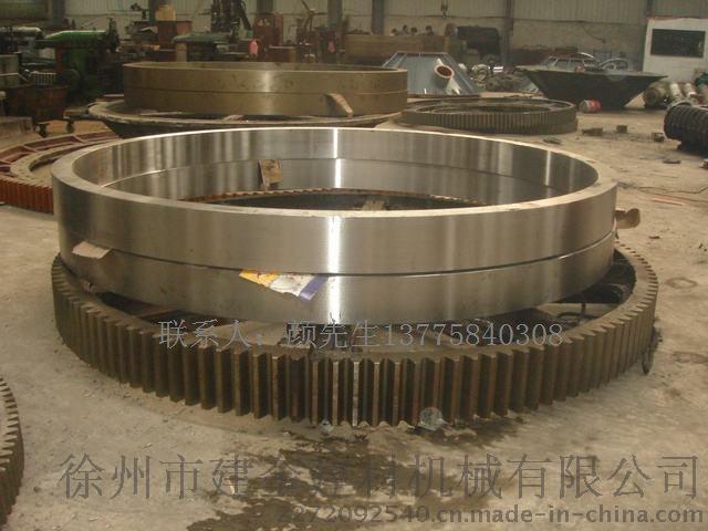 164齿22模数Φ2.4米烘干机大齿圈滚圈托辊生产公司690609755